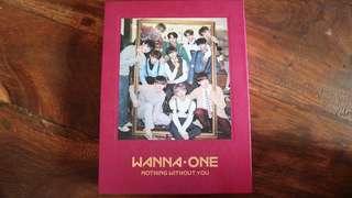 Wanna One 1-1=0 Nothing Without You Album Jisung Set
