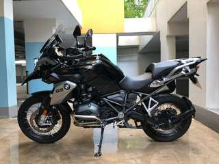 Used 2017 BMW R1200GS Triple Black
