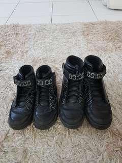 H&M Black High-Cut Light Shoe