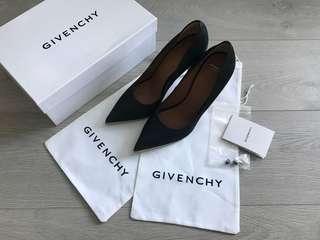 Givenchy high heels 高踭鞋 高跟鞋 黑色金底 39號