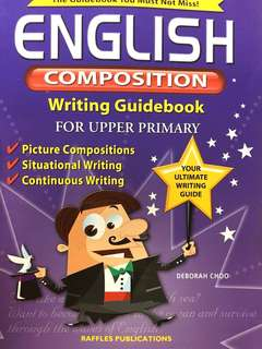 primary english composition writing guidebook