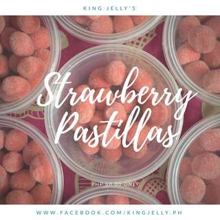 Strawberry Pastillas