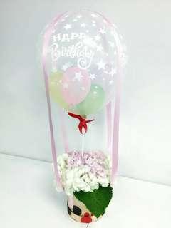 Hot Air Balloon Birthday Series