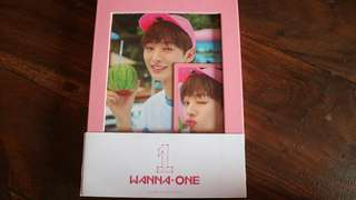 Wanna One 1x1=1 To Be One Album Jisung Set