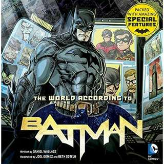 The World According to Batman ( Price listed for this book is including the shipping for West Malaysai)