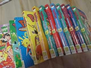 Pokémon Adventure Comic Series