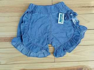 Celana pendek anak jeans flipper
