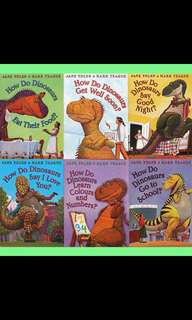 How Do Dinosaurs (6 Books Set) - Jane Yolen & Mark Teague