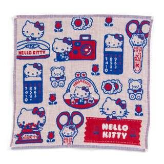 Japan Sanrio Hello Kitty Triple Gauze Petit Towel
