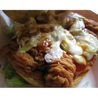 Burger Ayam Spicy Frozen