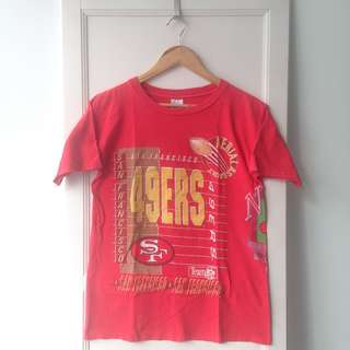 Vintage 90s NFL San Francisco 49ERS Tee Made In USA