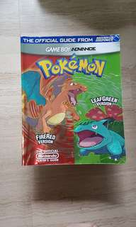 Pokemon Firered and Leafgreen Guide Book