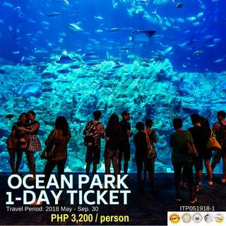 1 Day Ocean Park Ticket