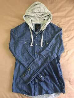 Preowned Cotton On Denim Hoodie Size XS