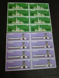 Singapore Stamps National Monuments
