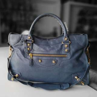 Authentic Balenciaga Classic City Leather Bag