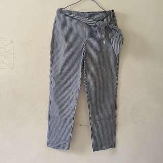 ZARA Basic Stripe Pants