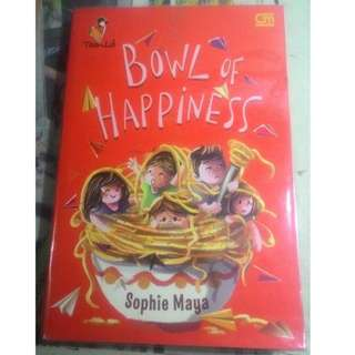 Novel Bowl of Happiness karya Sophie Maya