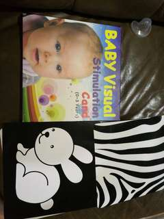 Baby visual stimulation cards