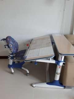 Egonomic study table & chair