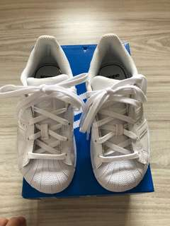 Adidas Superstar Size US10 for kids