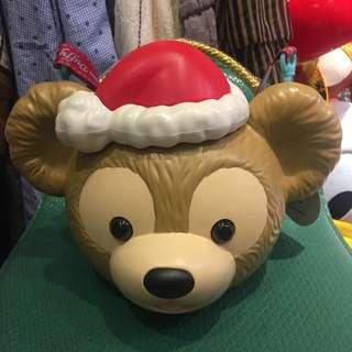 🚚 日本帶回聖誕達菲爆米花桶