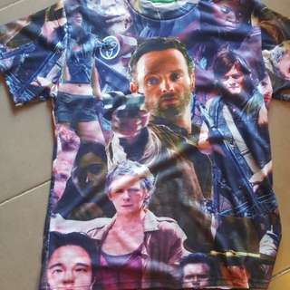THE WALKING DEAD T SHIRT all over print movie