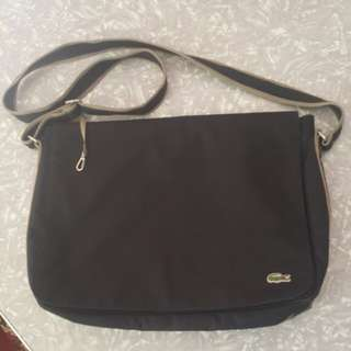 Genuine LACOSTE shoulder bag lap top mens