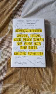 Overwhelmed (Work, Love, and Play..) by Brigid Schulte