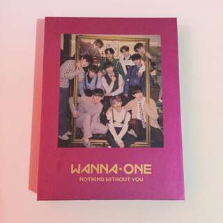 Wanna One Nothing Without You (NWY) One Ver. album