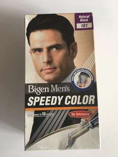 Bigen Men's Speedy Color No Ammonia Natural Black