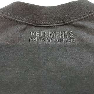 Vetements Metal Tee