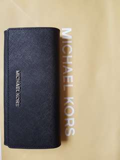 Michael Kors wallet 防割花皮革钱包