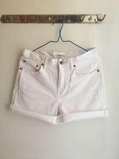 Global Work 白色短褲