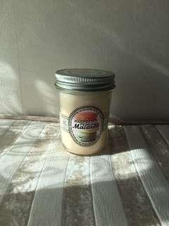 🍑PEACH & CREAM MACARON scented CANDLE