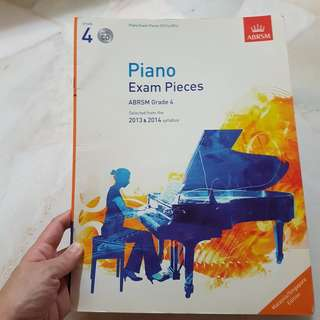 ABRSM Piano Exam Pieces Grade 4