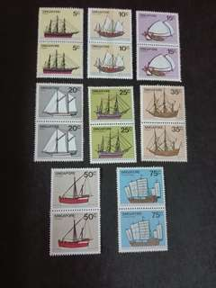 Singapore Stamps Ship 1980