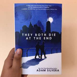 English Novel THEY BOTH DIE AT THE END