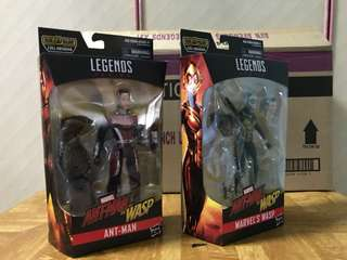 Brand New - Marvel Legends Ant-Man and The Wasp (with BAF)
