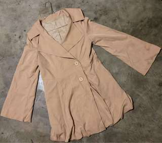 Nude Trench Coat (REPRICED)