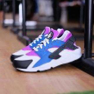 Nike Air Huarache Blue Jay White Hyperviolet