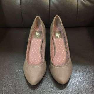 Zara Trf 咖啡紫高跟鞋