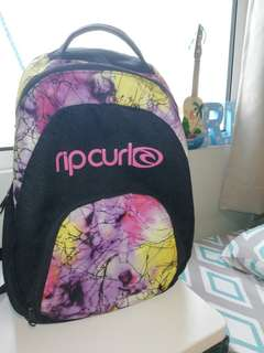 Authentic RIP CURL Back pack