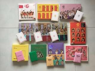 [INSTOCK] Twice Official Thailand/Korea Press Albums