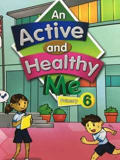 p6 an active and healthy me textbook