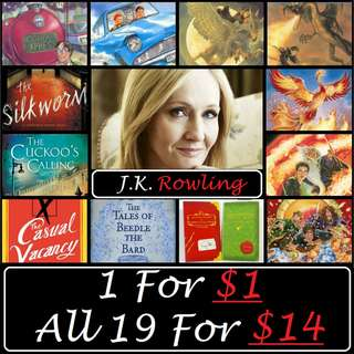 J.K. Rowling eBooks