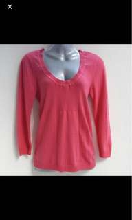 🎁 FREE - Mango MNG Pink Pullover