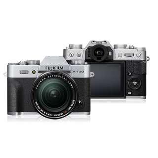 Kredit Kamera Mirrorless Fuji XT20 Proses Hanya 3 Menit