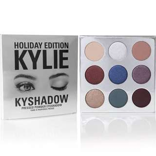 (PO) The Holiday Palette Kylie Cosmetics