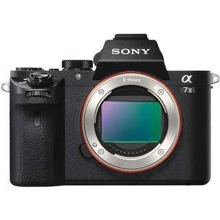 Sony Alpha A7 Mark II Body Only Kredit Mudah Proses Mudah